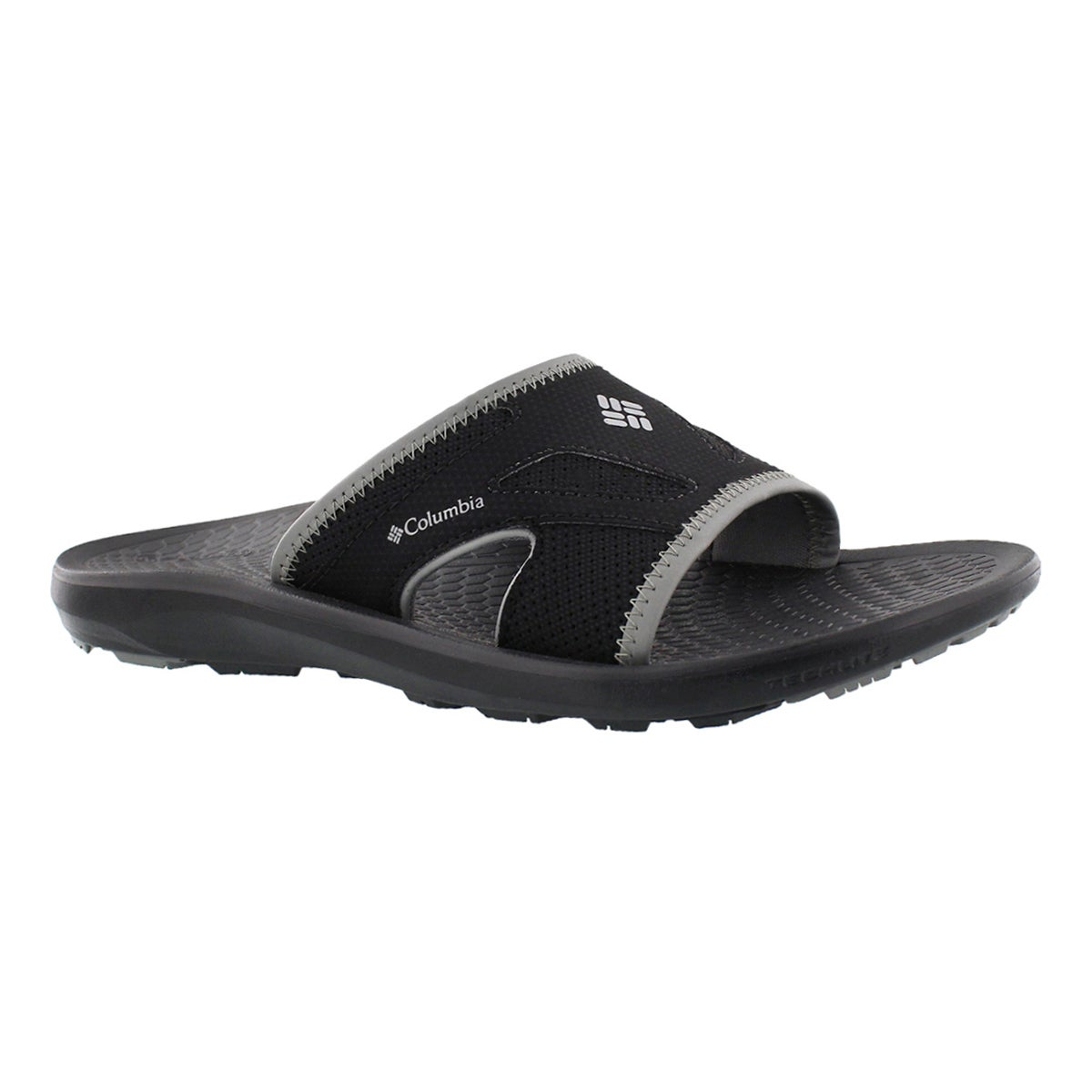 Men's TECHSUN SLIDE  black casual sandals