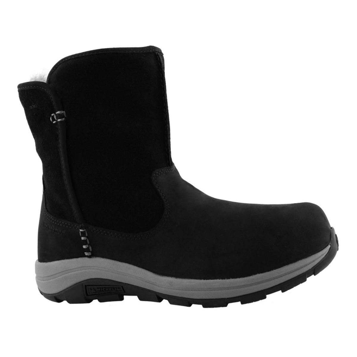 Lds BangorSlip OmniHeat blk winter boot