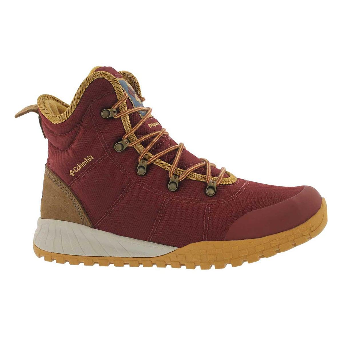 Men's FAIRBANKS OmniHeat rust waterproof boots