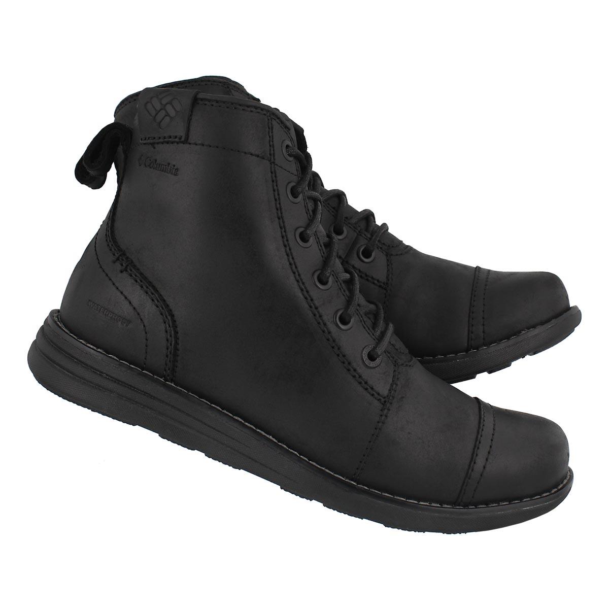 Mns Irvington LTR XTM blk wtpf boot