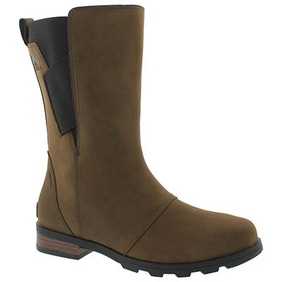 Lds Emelie Mid major/blk wtpf boot