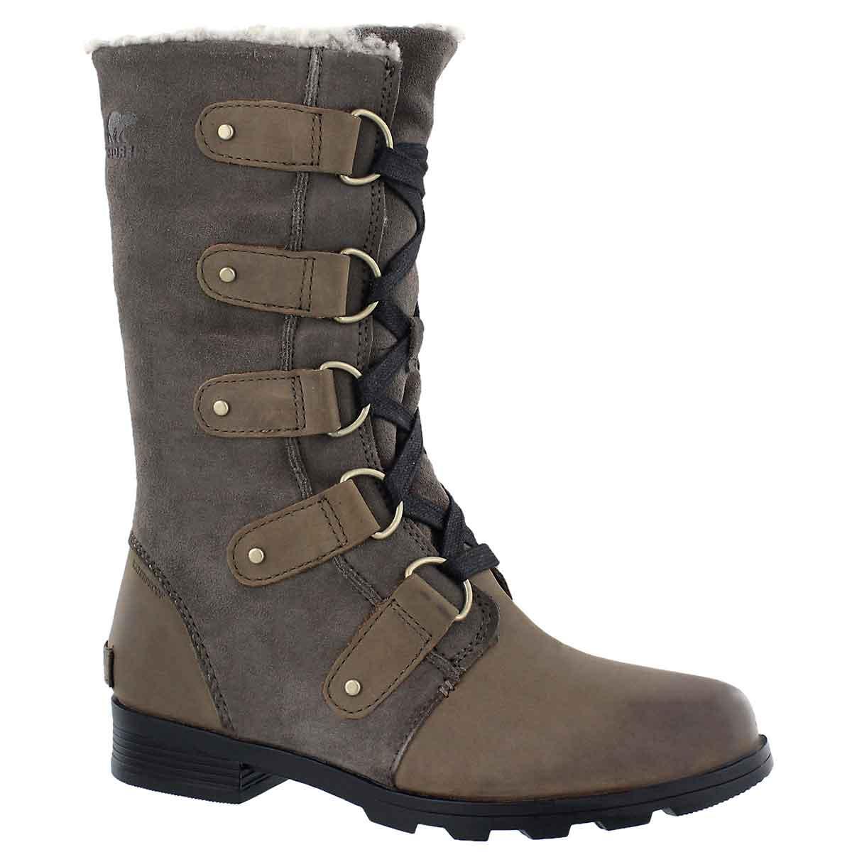 Women's EMELIE LACE major/black waterproof boots