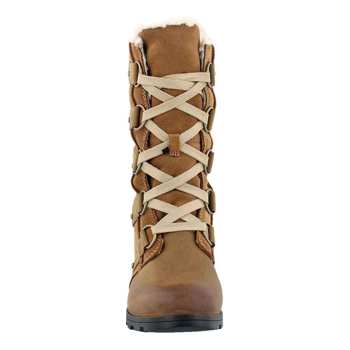 Lds Emelie Lace elk/crdv waterproof boot