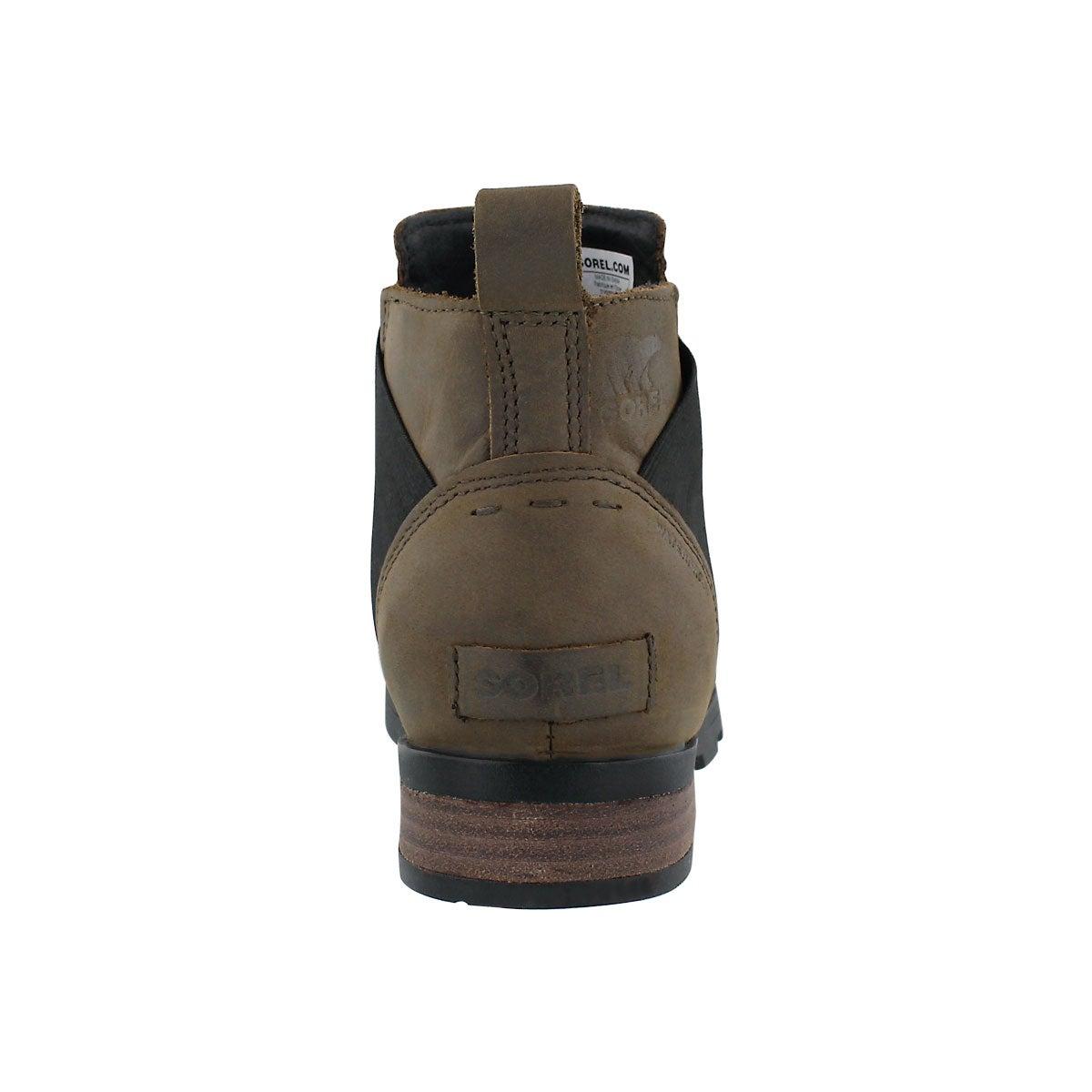 Lds Emelie major/blk wtpf chelsea boot