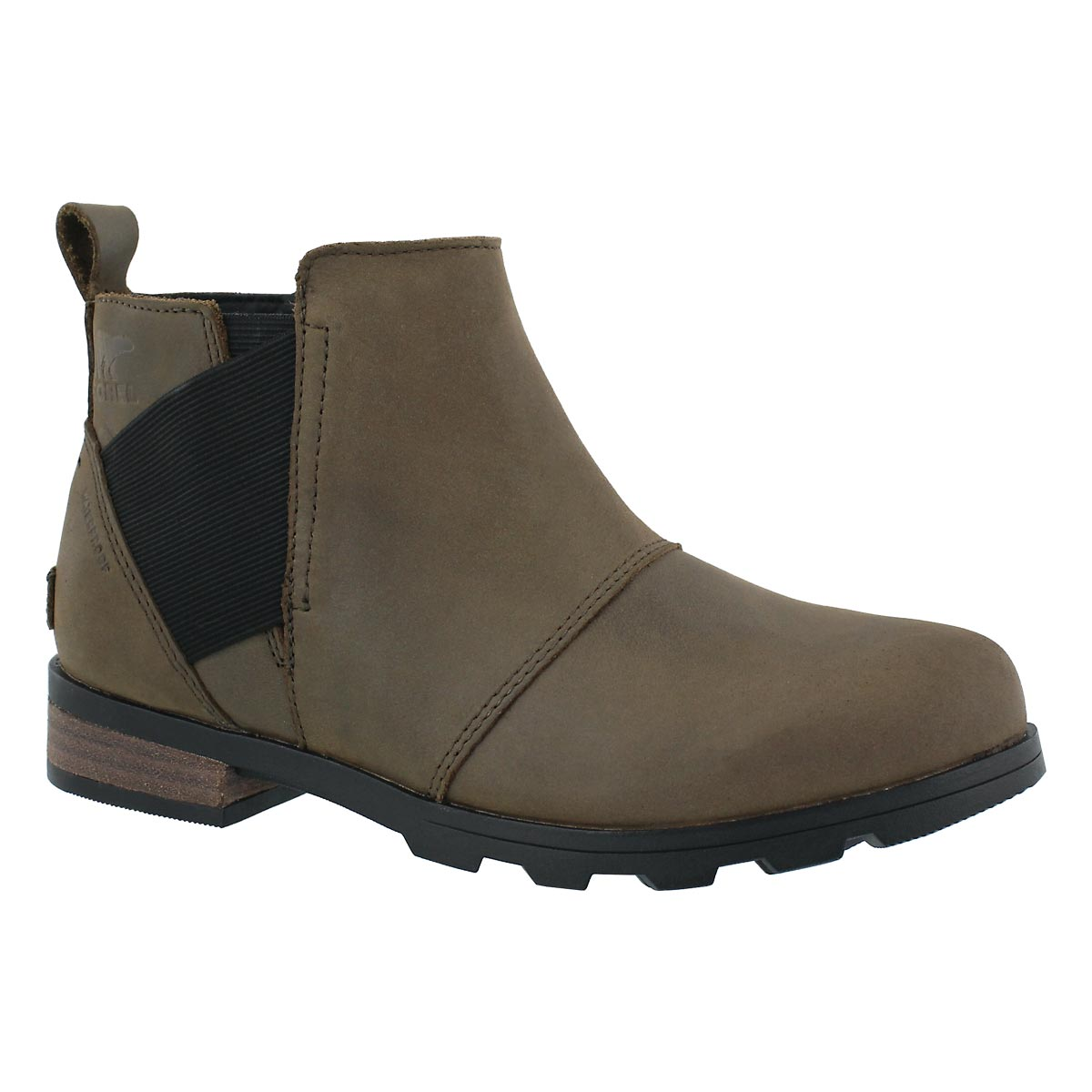 Women's EMELIE major/blk waterproof chelsea boots