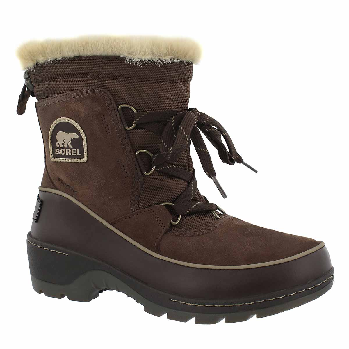 Women's TIVOLI III tobacco waterproof boots