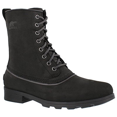 Lds Emelie 1964 blk wtpf winter boot