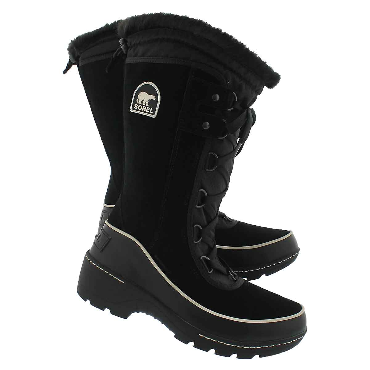 Lds Tivoli III High black/gry wtpf boot