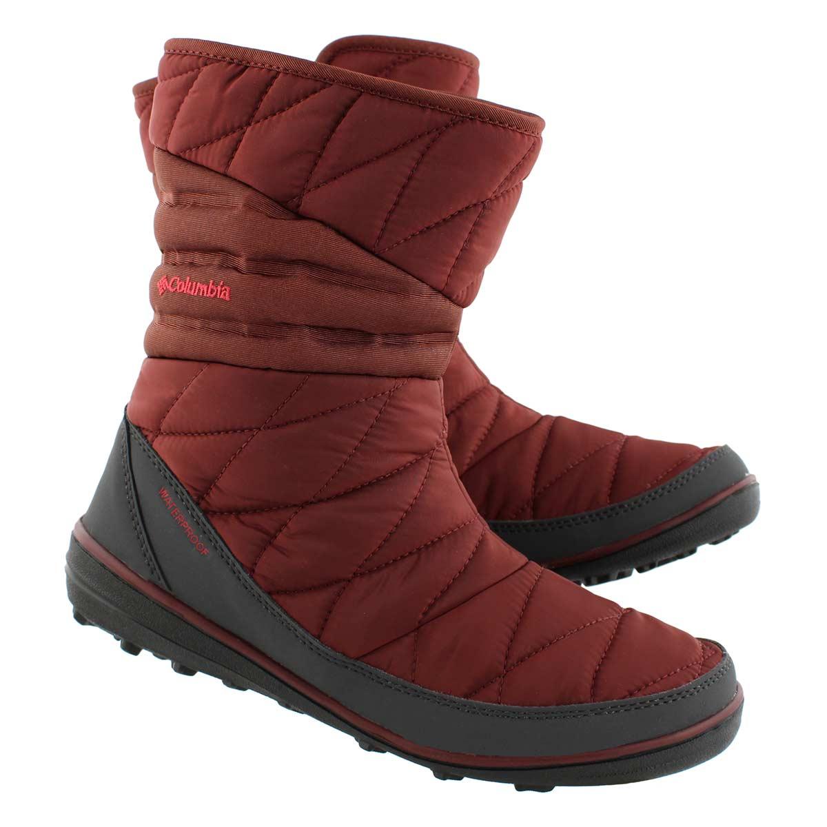 Lds HeavenlySlipII OmniHeat rust wp boot