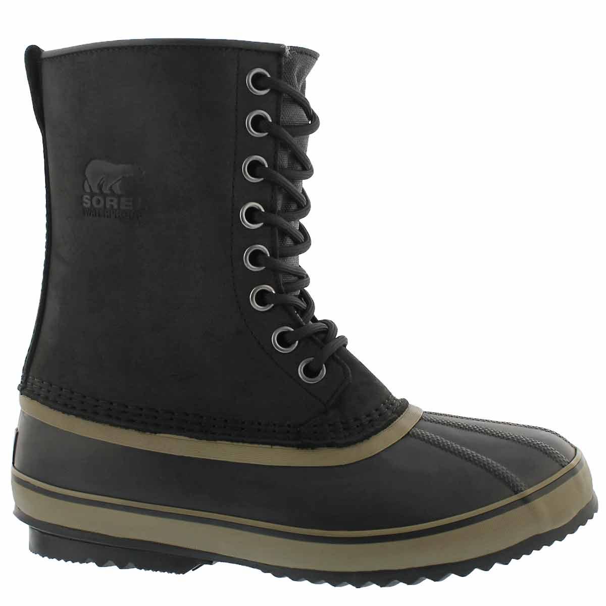 Men's 1964 PREMIUM black waterproof winter boots