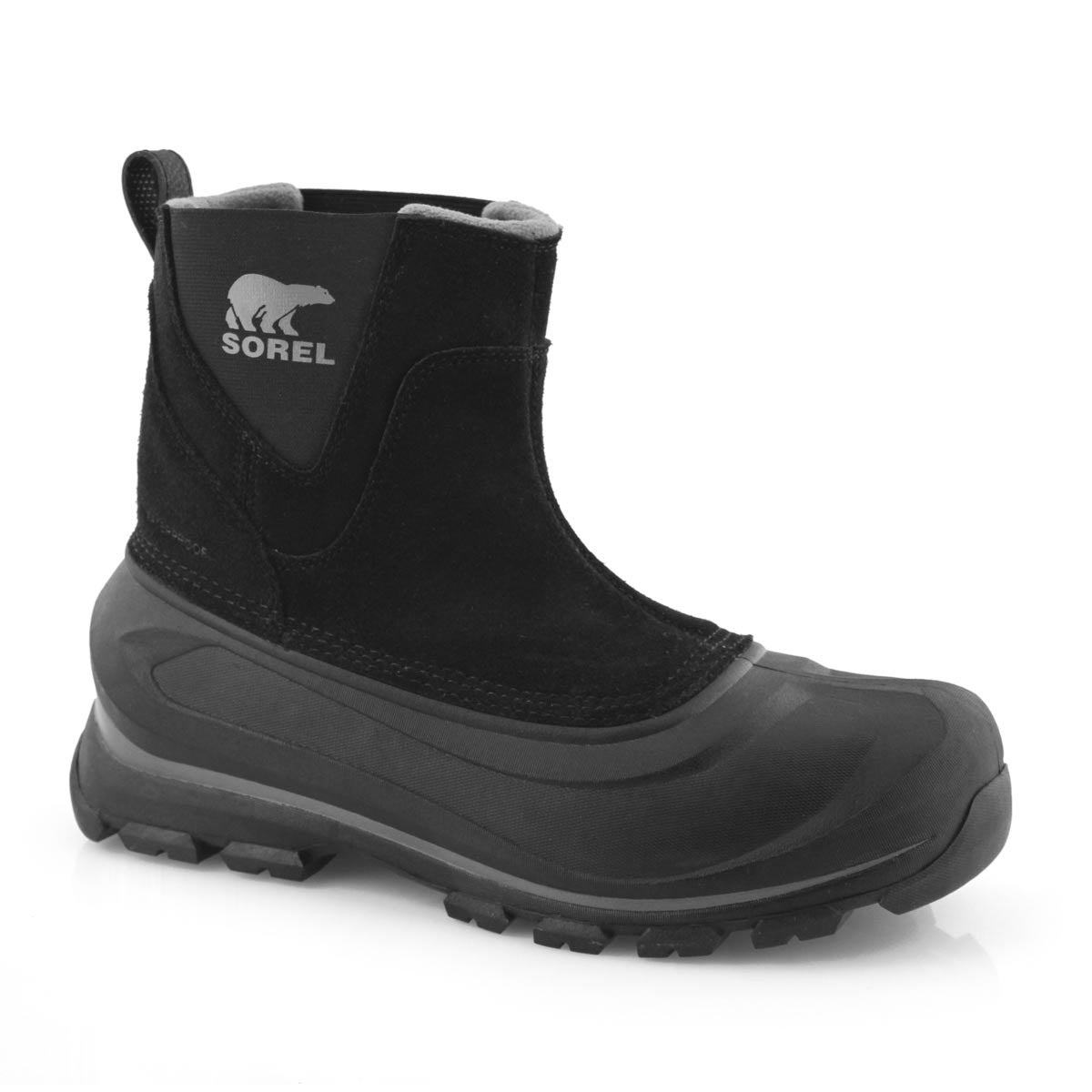 Mns Buxton Pull On black winter boot