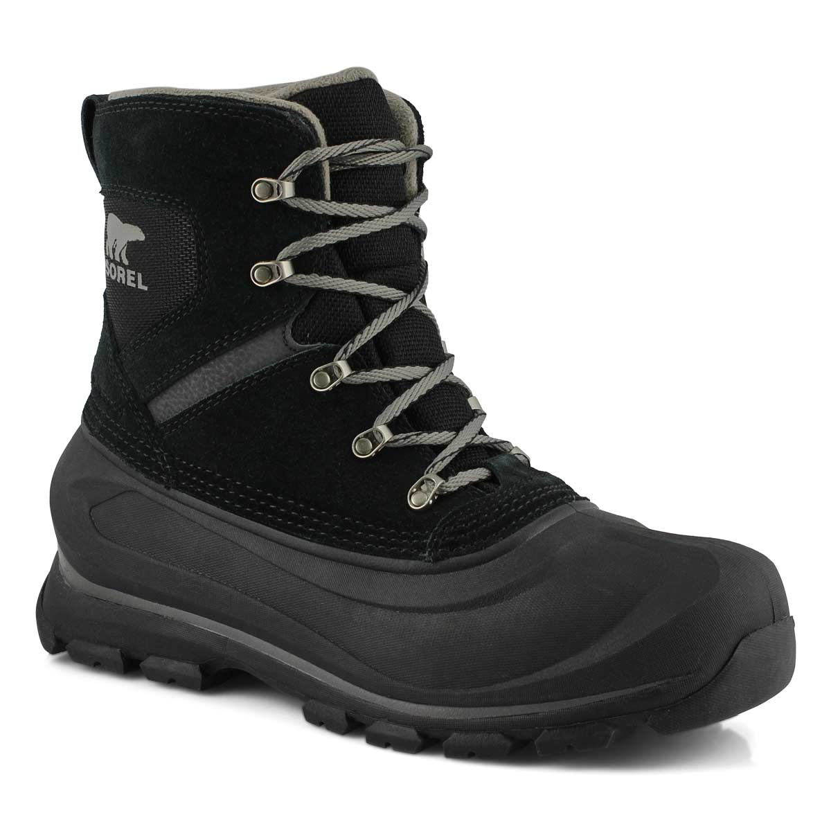 Mns Buxton Lace blk/qry wtpf winter boot