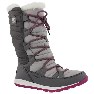Lds Whitney Lace quarry wp winter boot