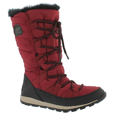 Lds Whitney Lace red wtpf winter boot