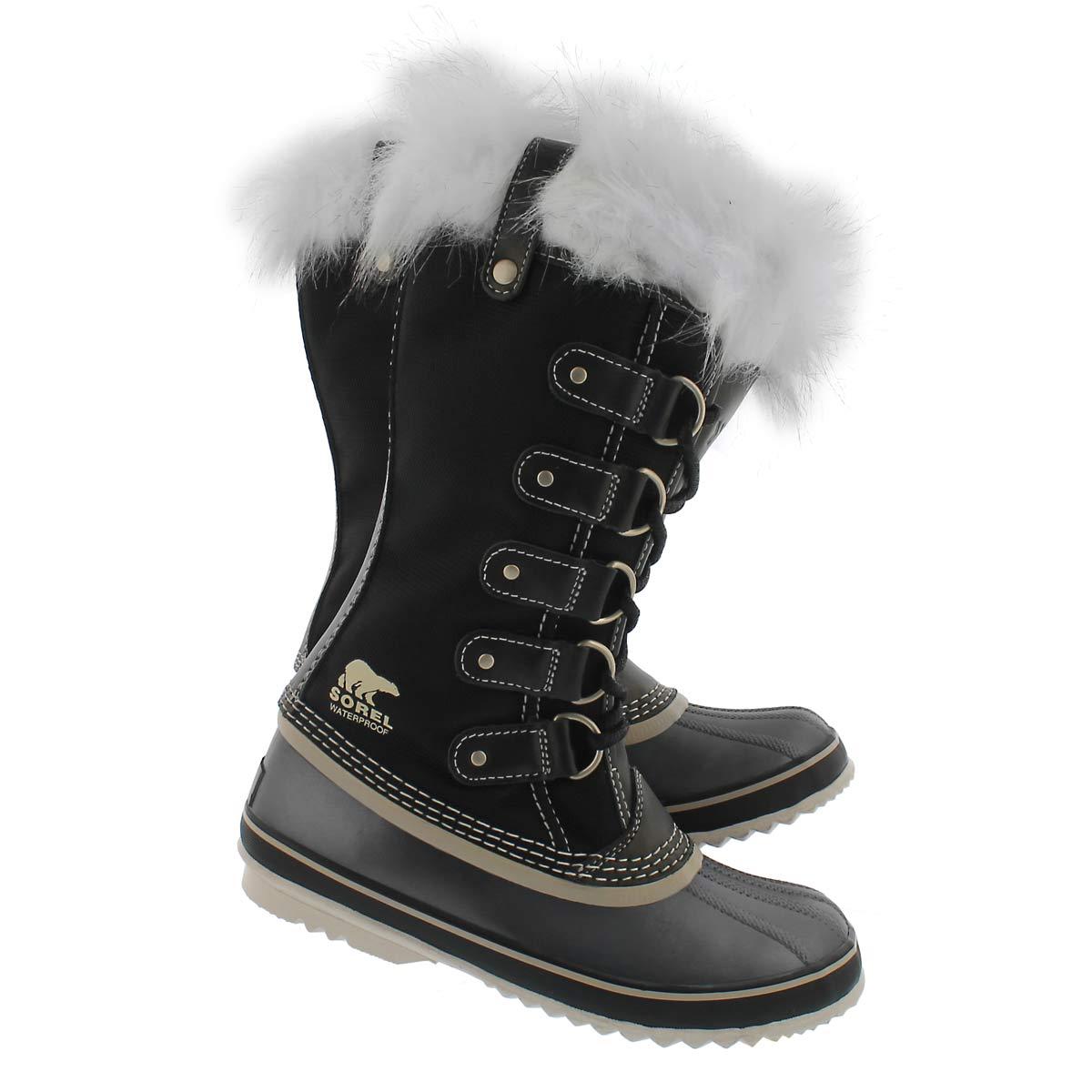 Lds Joan of Arctic X blk wpf winter boot