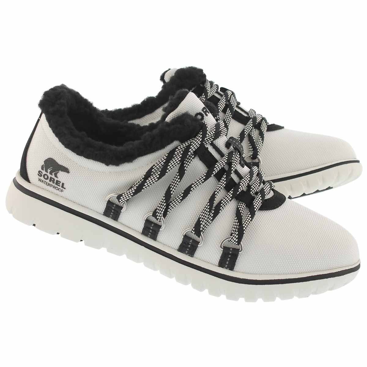 Lds CozyGo sea salt wp insulated sneaker