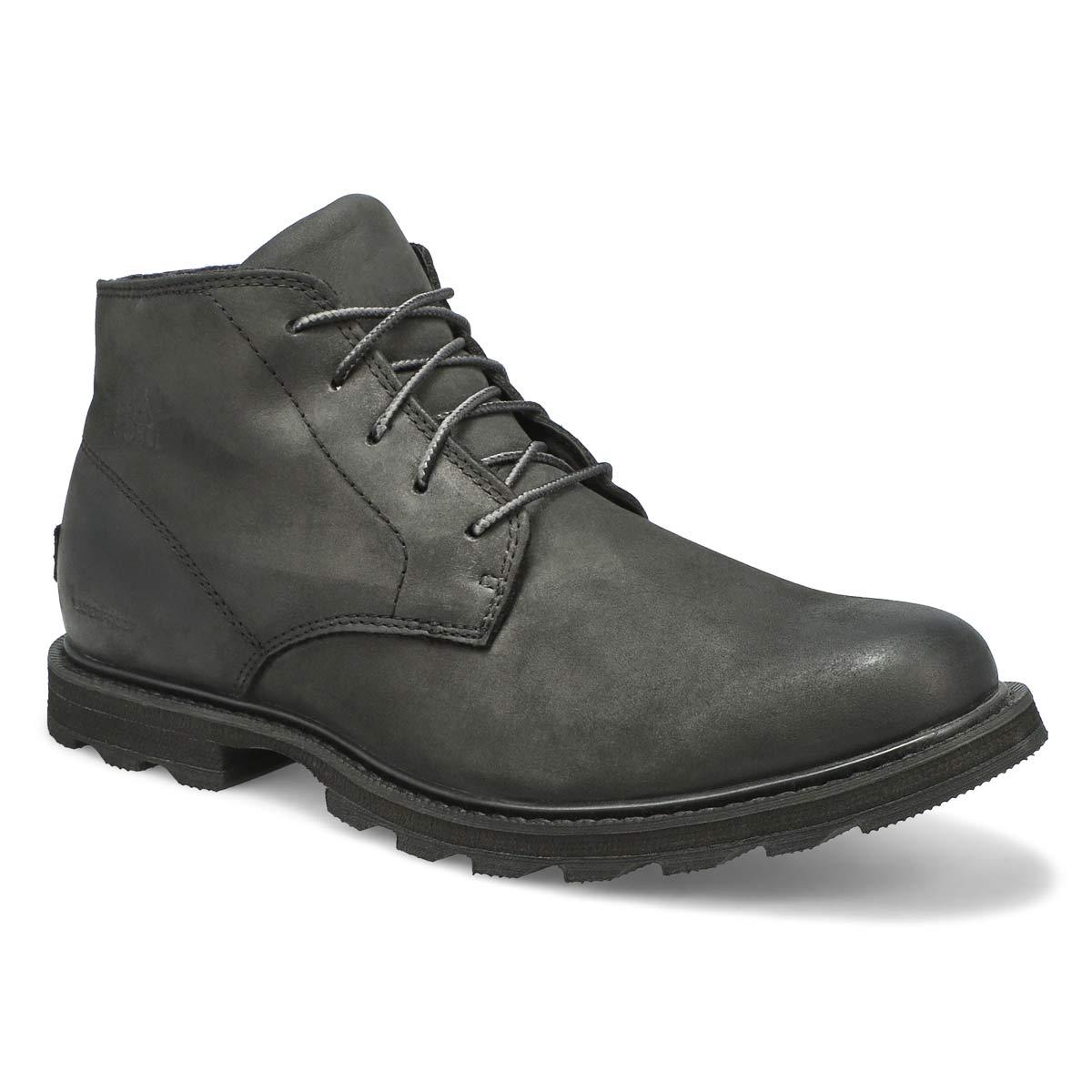 Mns Madson black wtpf chukka boot