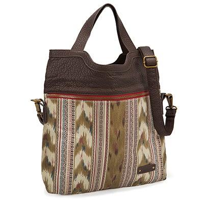 Pistil Women's CALL ME sahara fold-over tote bag