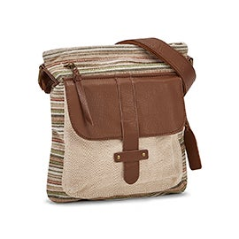 Lds Gotta Run picnic crossbody bag