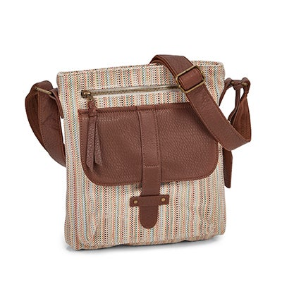 Lds Gotta Run sugarcane crossbody bag