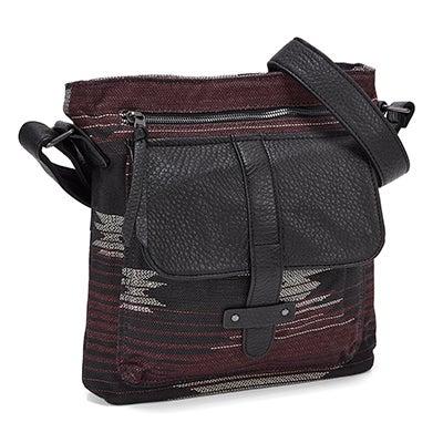 Pistil Women's GOTTA RUN poncho print cross body bag