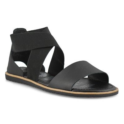 Lds Ella black casual sandal