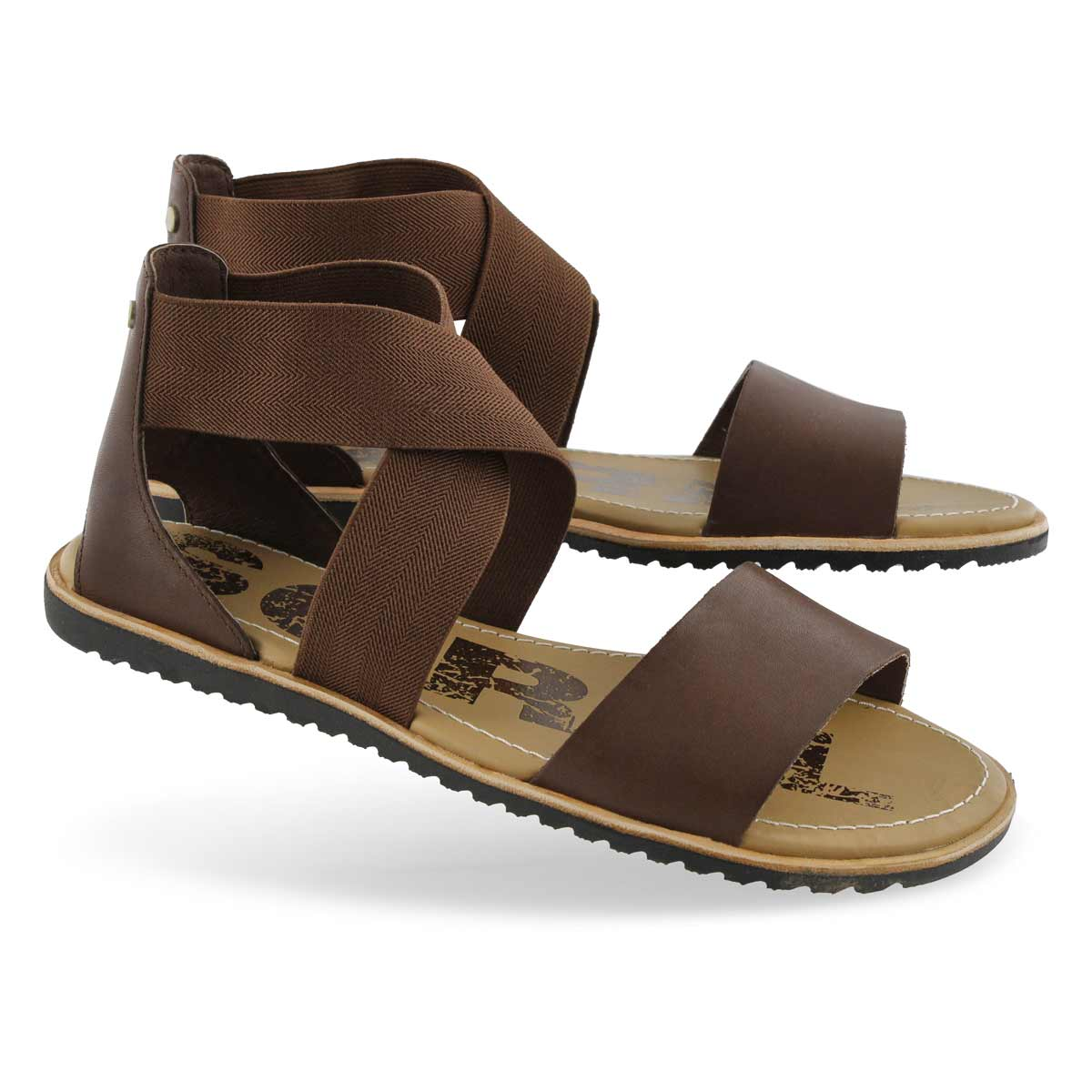 Lds Ella tobacco casual sandal