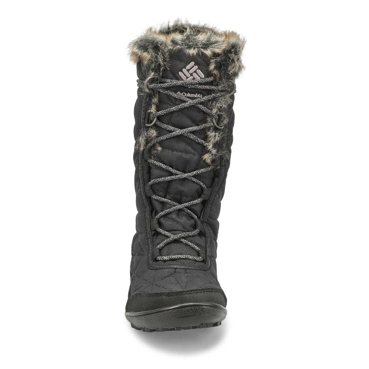 Lds Minx Mid III black wp tall wntr boot
