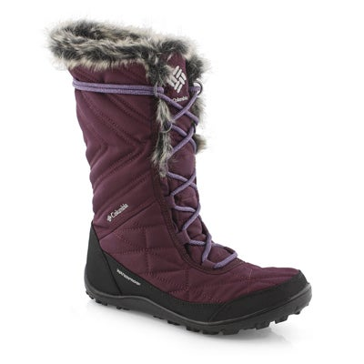 Lds Minx Mid III cherry wp tall wtr boot