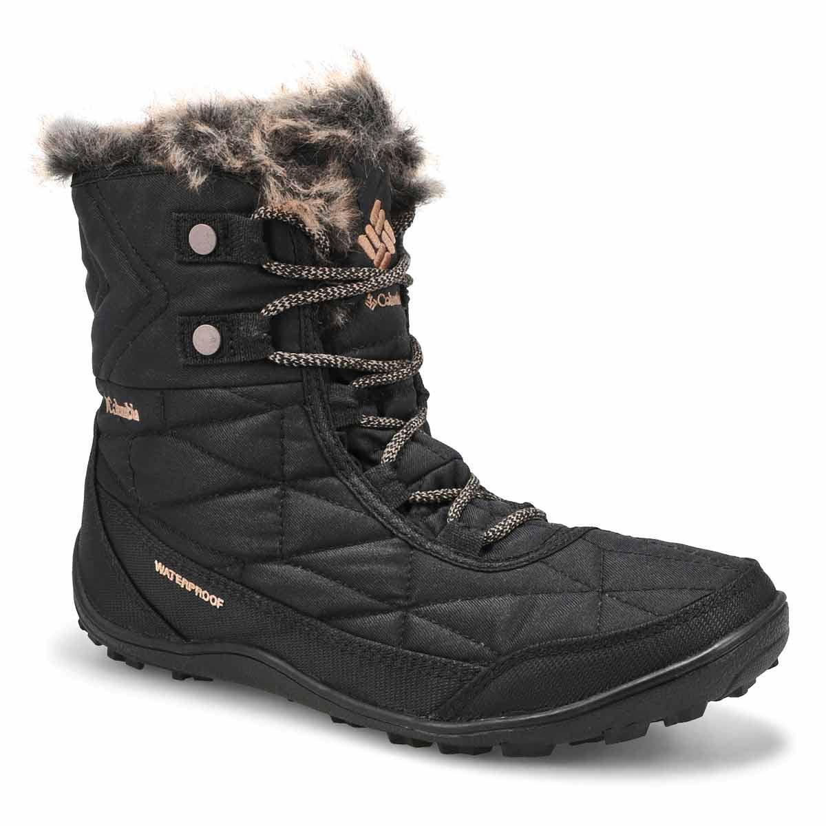 Lds Minx Shorty III blk wtpf winter boot