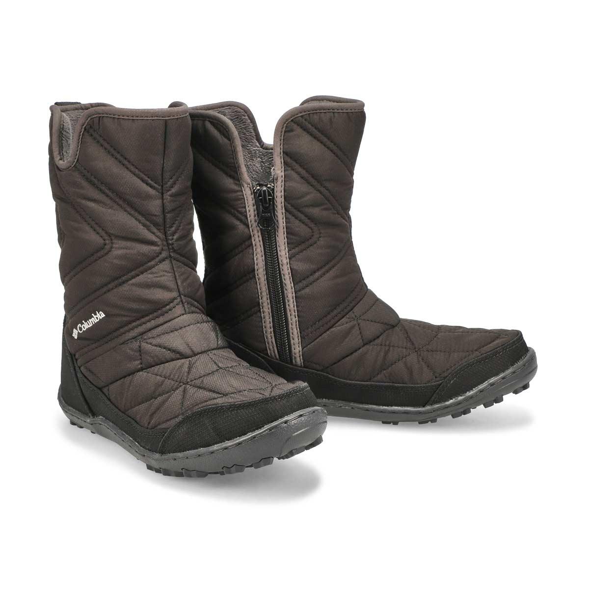 Grls Minx Slip III black wtpf wntr boot