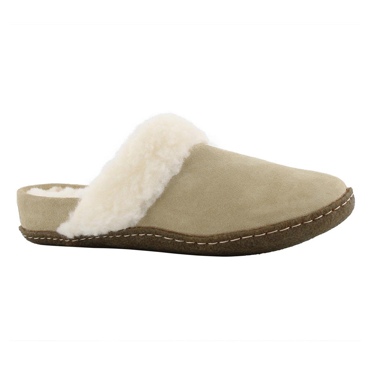 Lds Nakiska Slide II british tan slipper