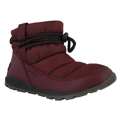 Lds Whitney Short rich wine wp wntr boot