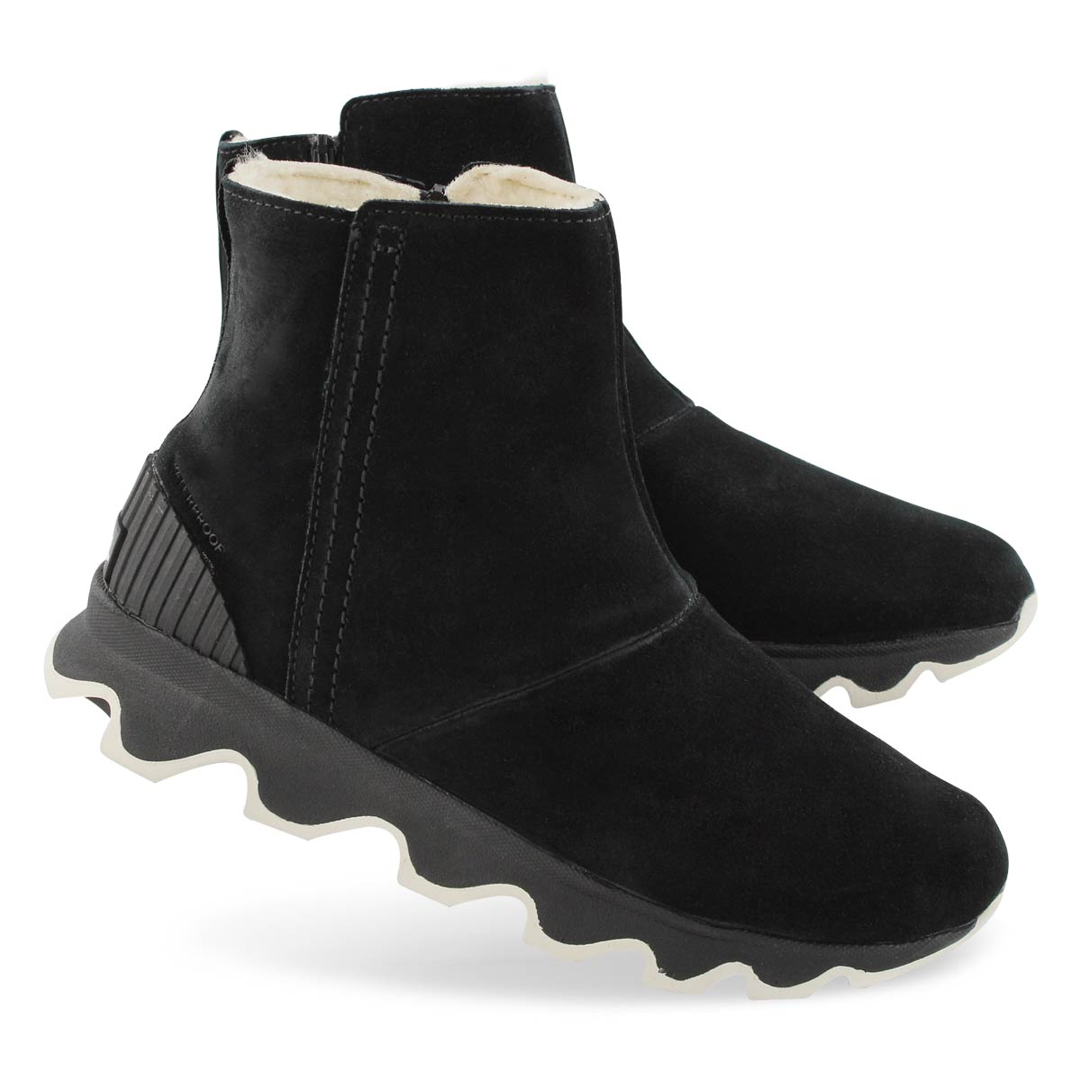 Lds Kinetic Short black wtpf ankle boot