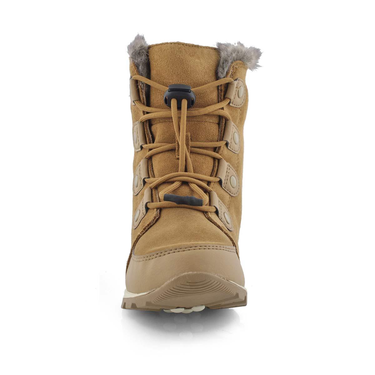 Girls' WHITNEY SUEDE elk waterproof snow boots