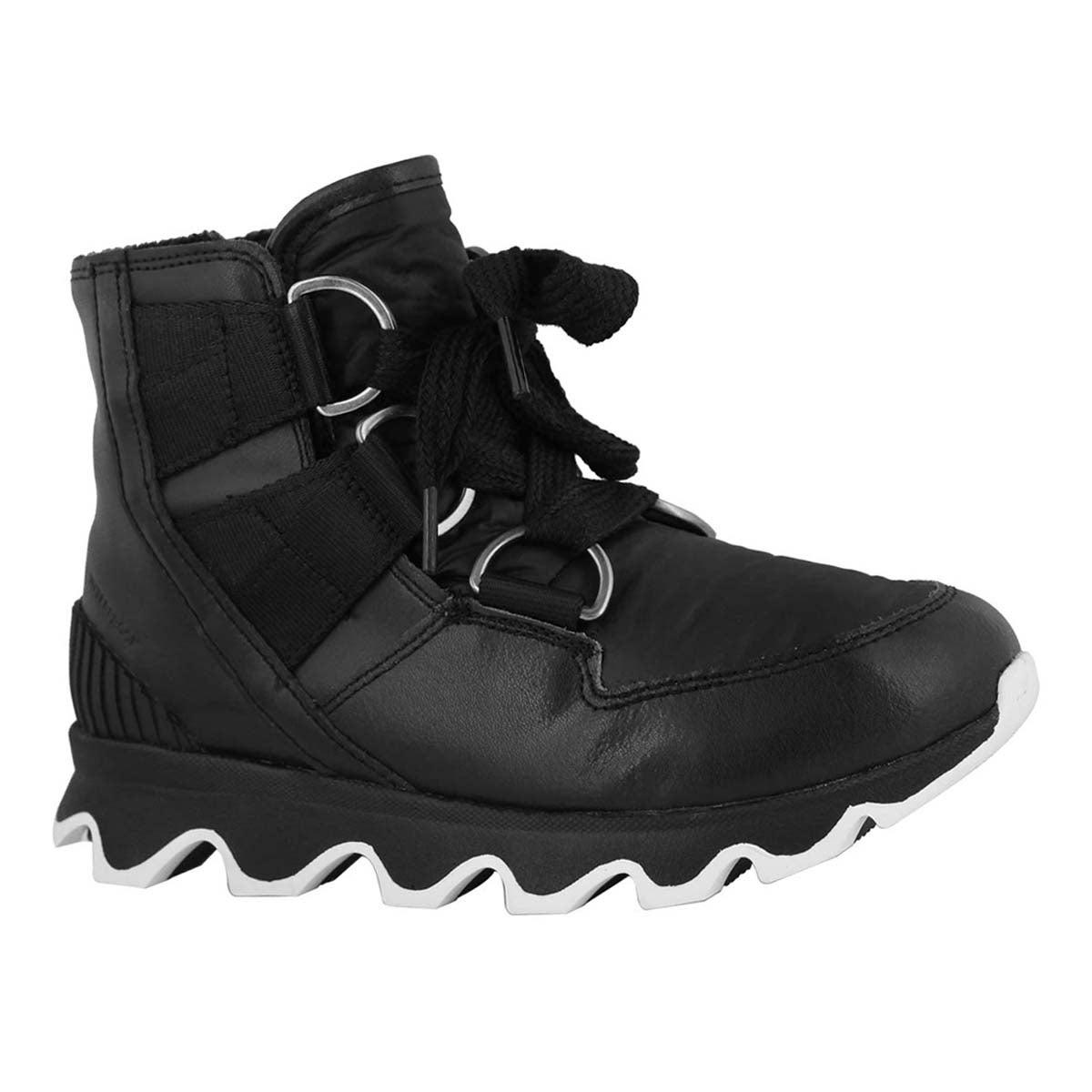 Lds Kinetic Short Lace bk/wt wtrpf boot