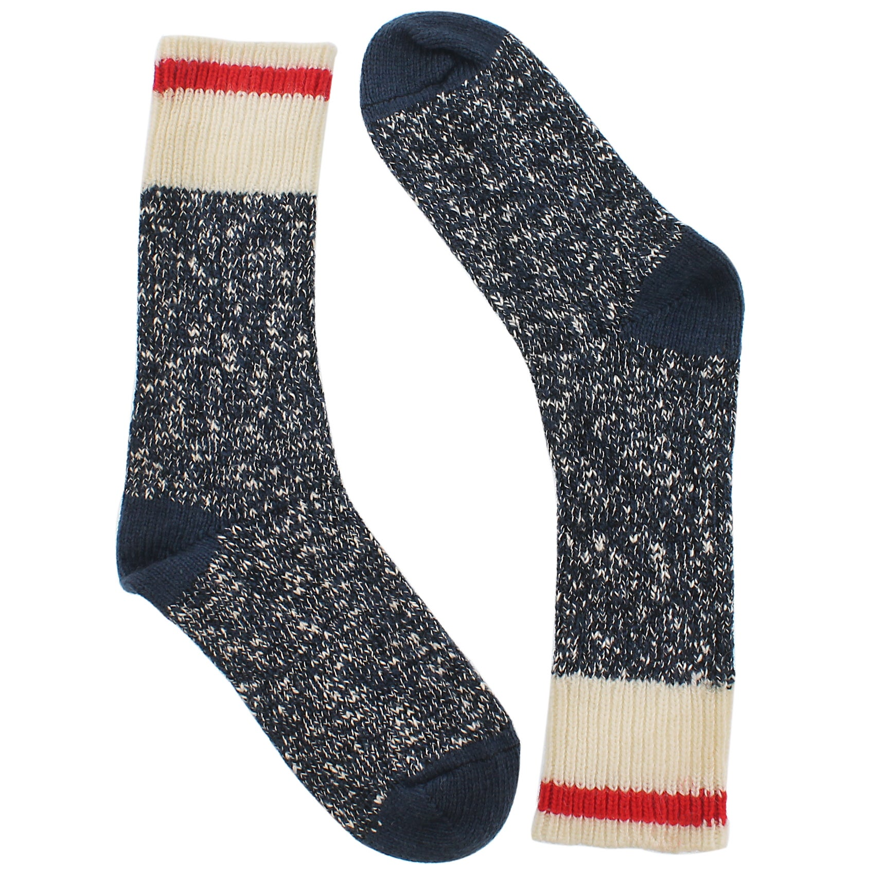 Women's DURAY blue marled work socks