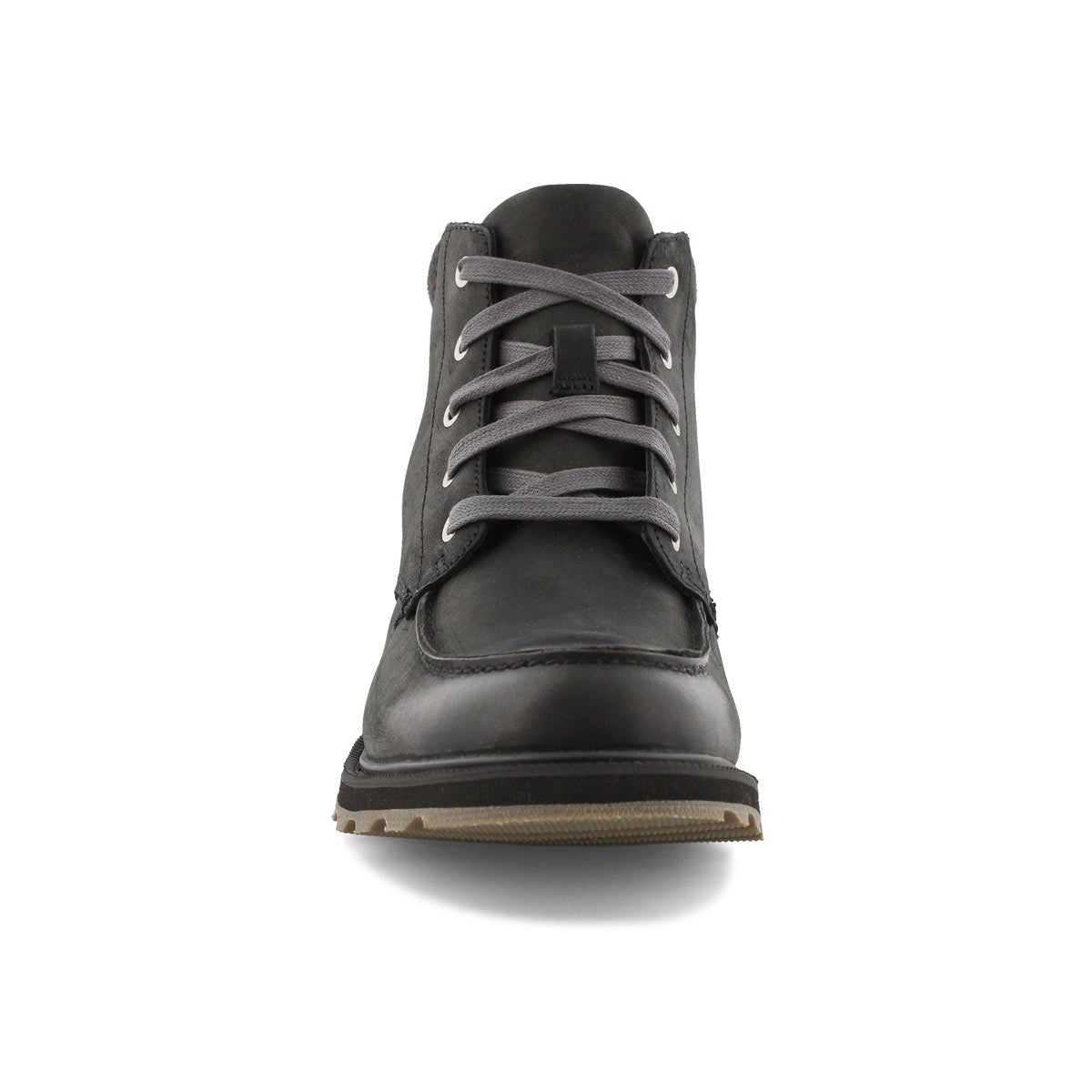 Mns Madson Moc Toe blk/drk gry wtpf boot