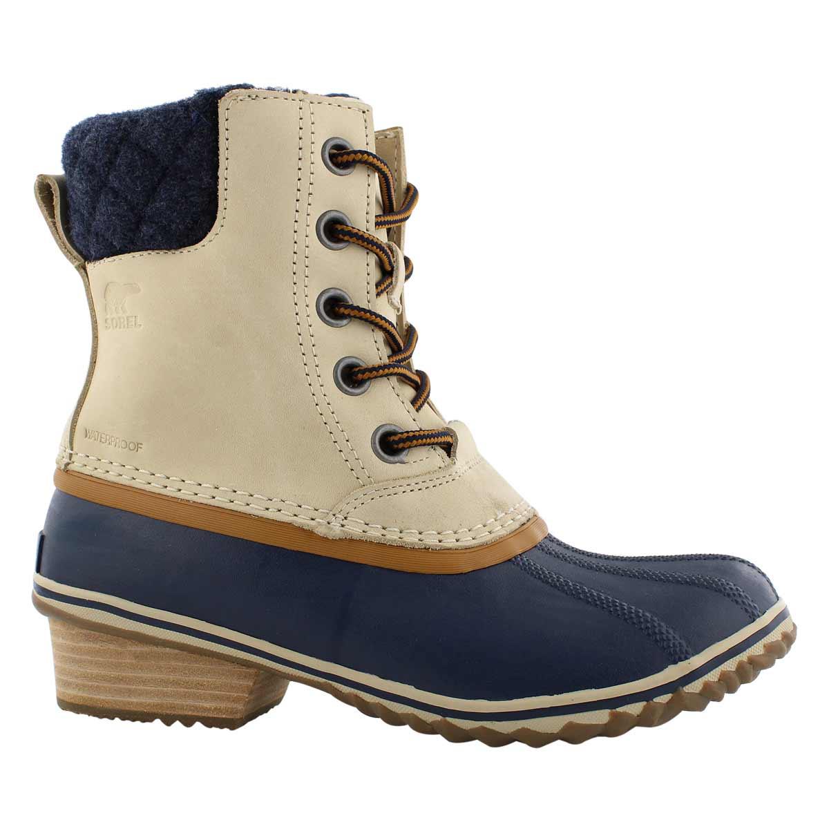 Lds Slimpack II Lace oatmeal wtpf boot