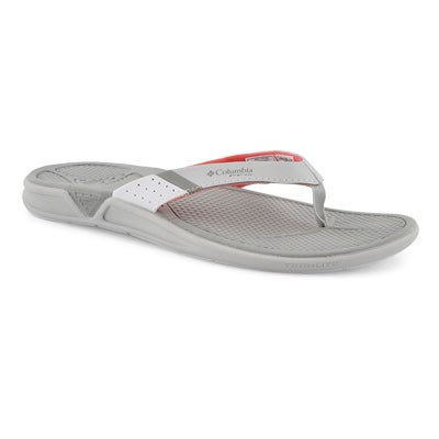 Lds Rostra PFG grey ice/coral thng sndl