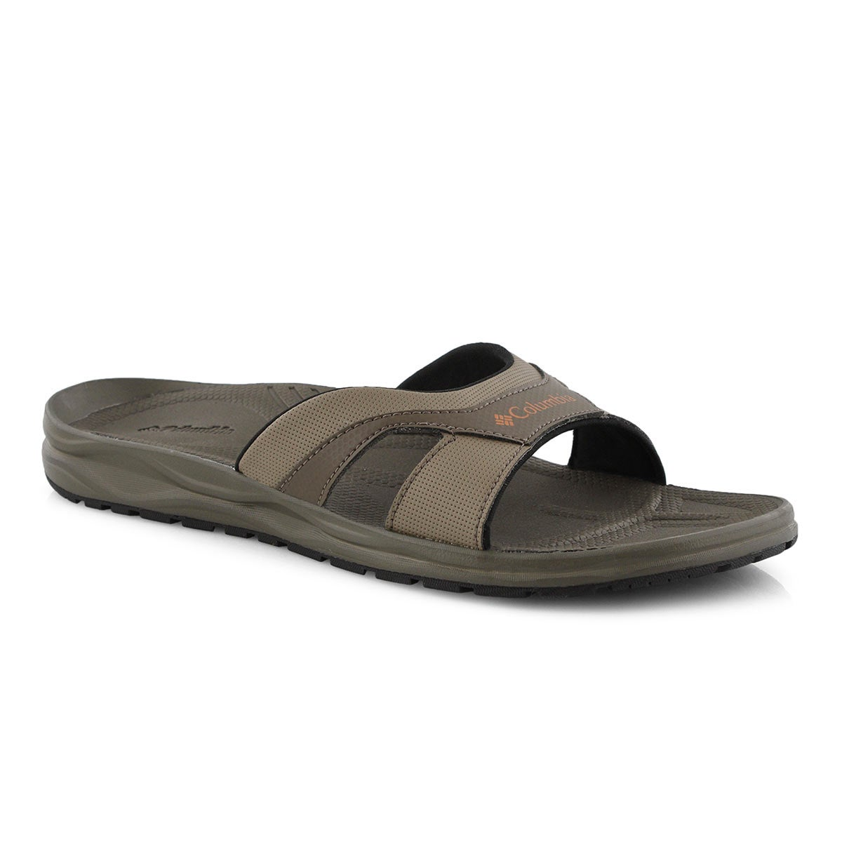 Mns Wayfinder Slide mud/copper sandal