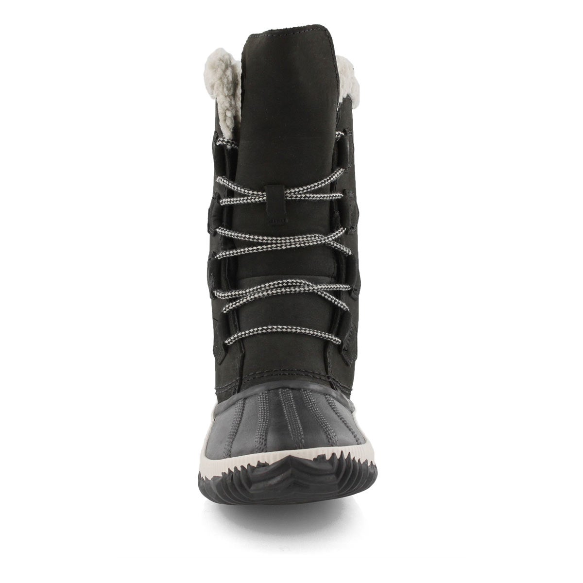 Lds Out'N About Plus Tall blk wtrpf boot