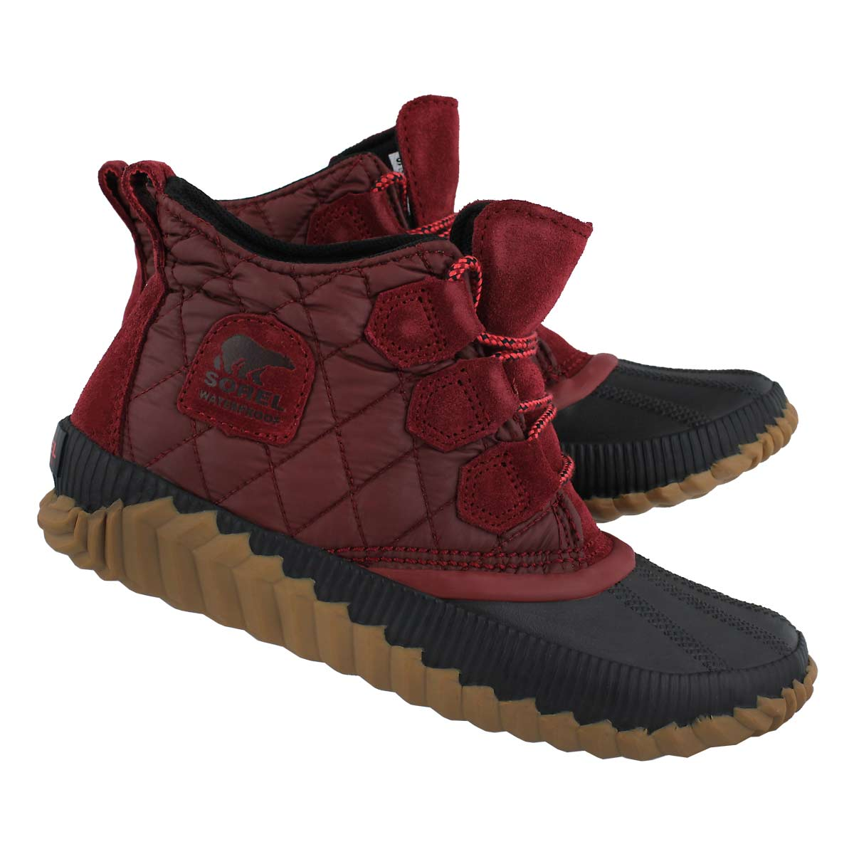 Lds Out'N About Plus red element bootie