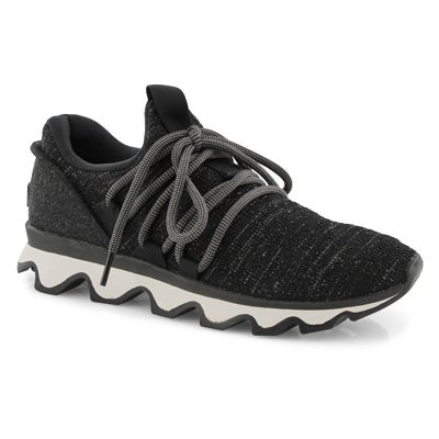 Lds Kinetic Lace black fashion snkr