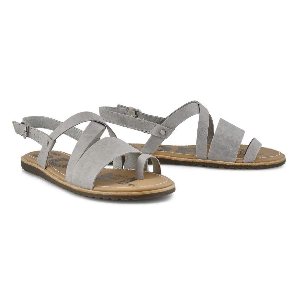 Lds Ella Criss Cross dove casual sandal