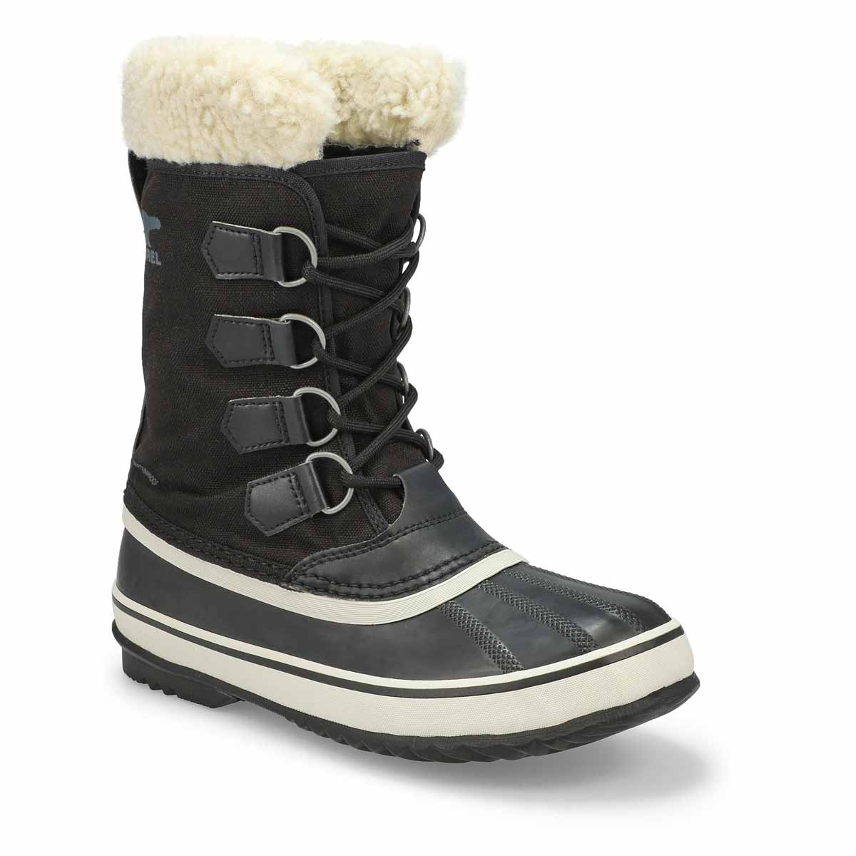 Lds Winter Carnival blk stn wp wntr boot