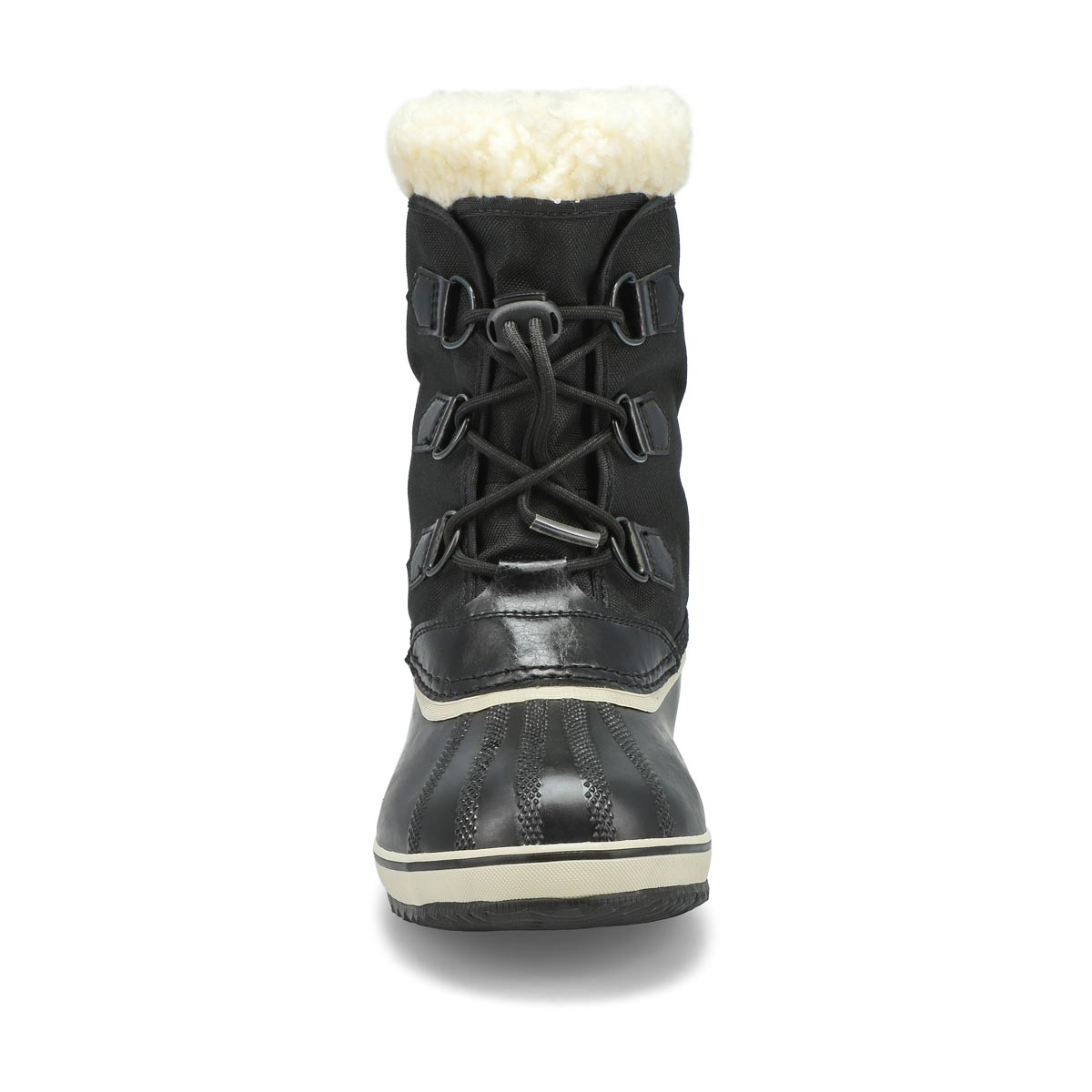 Kds Yoot Pac Nylon blk wtpf snow boot