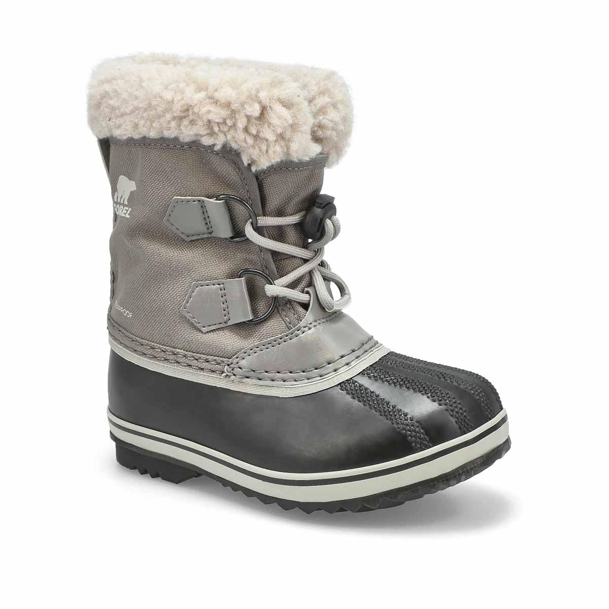 Kds Yoot Pac Nylon qry wtpf snow boot