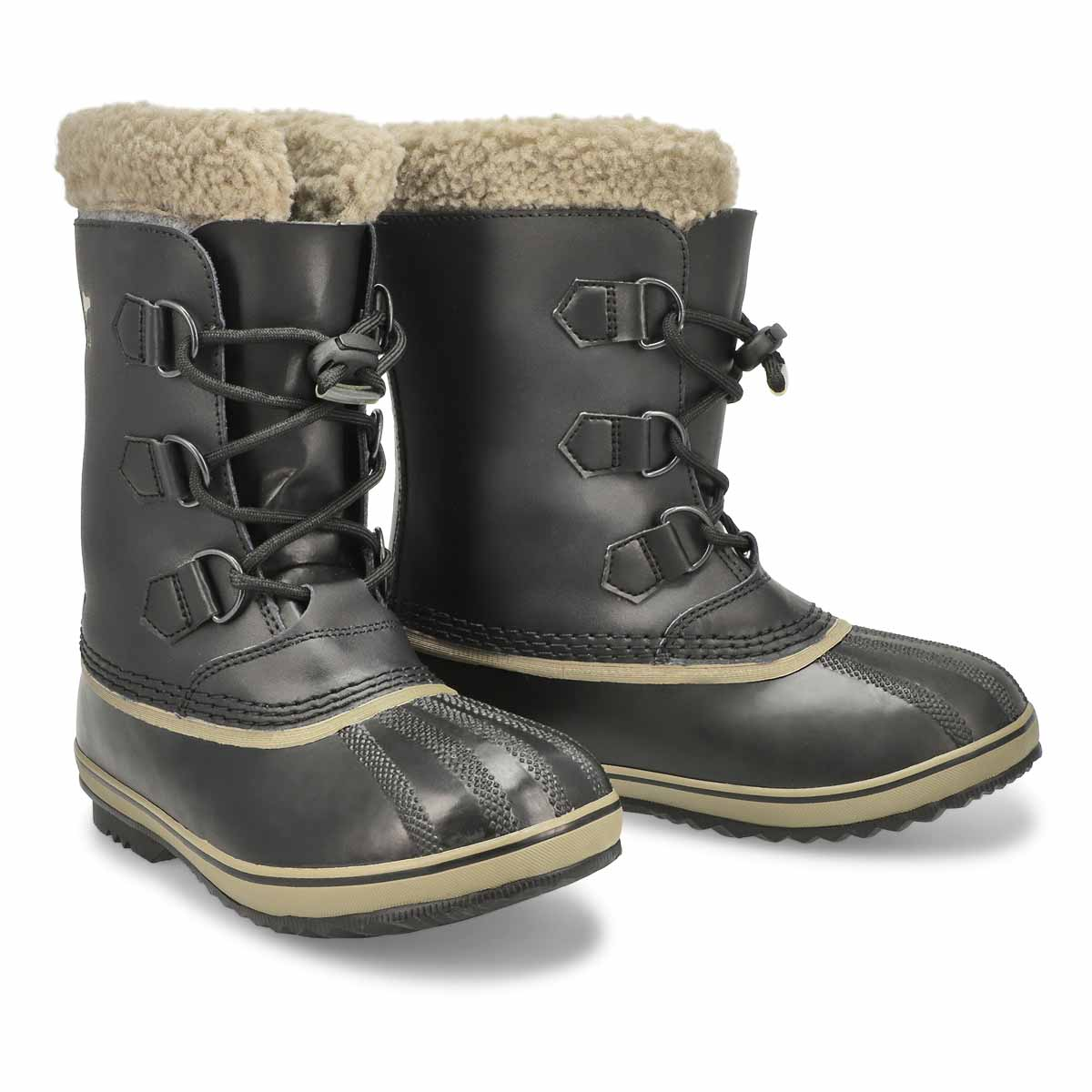 Kds Yoot Pac TP blk wtpf snow boot