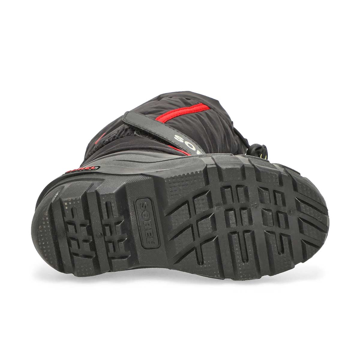 Bys Flurry blk/red pull on winter boot